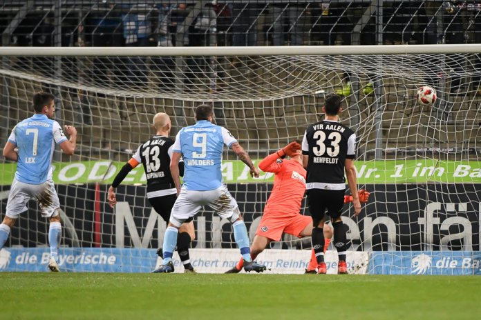 24. Spieltag 18/19: TSV 1860 München - VfR Aalen - Bild