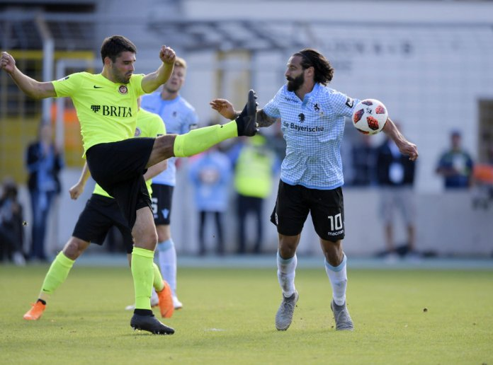 8. Spieltag 18/19: TSV 1860 München - SV Wehen Wiesbaden