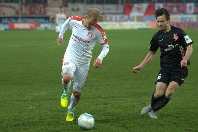 15. Spieltag; Würzburger Kickers – Hallescher FC
