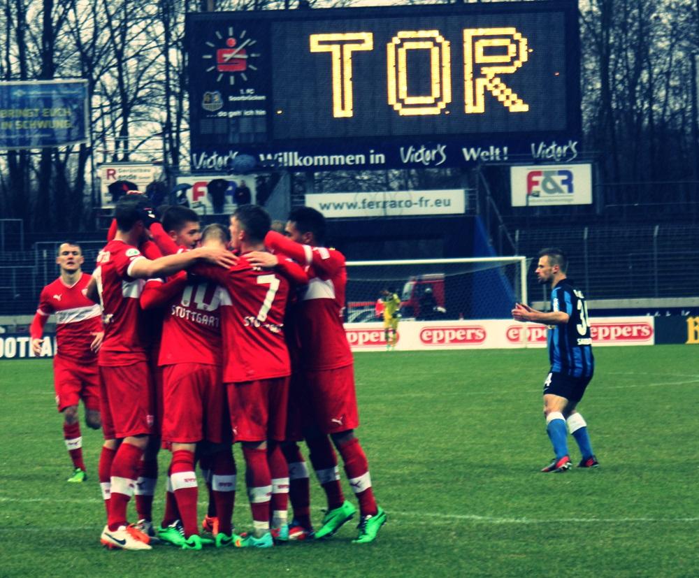 Mannschaftsfoto VfB Stuttgart II
