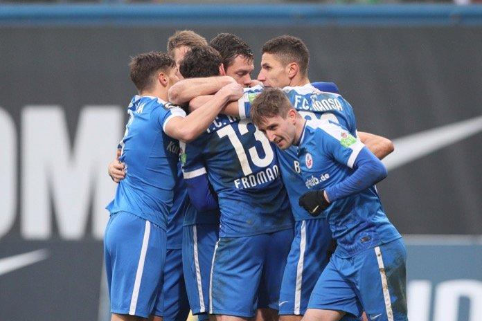 Rostock besiegt den HFC – Spielbericht + Bilder