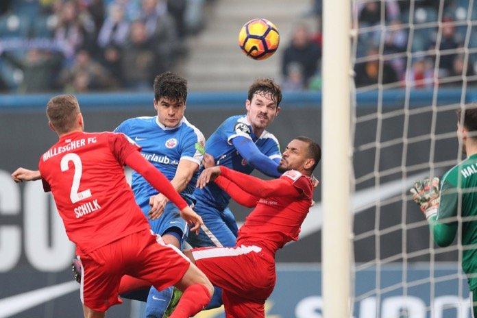23. Spieltag 16/17: Hansa Rostock - Hallescher FC