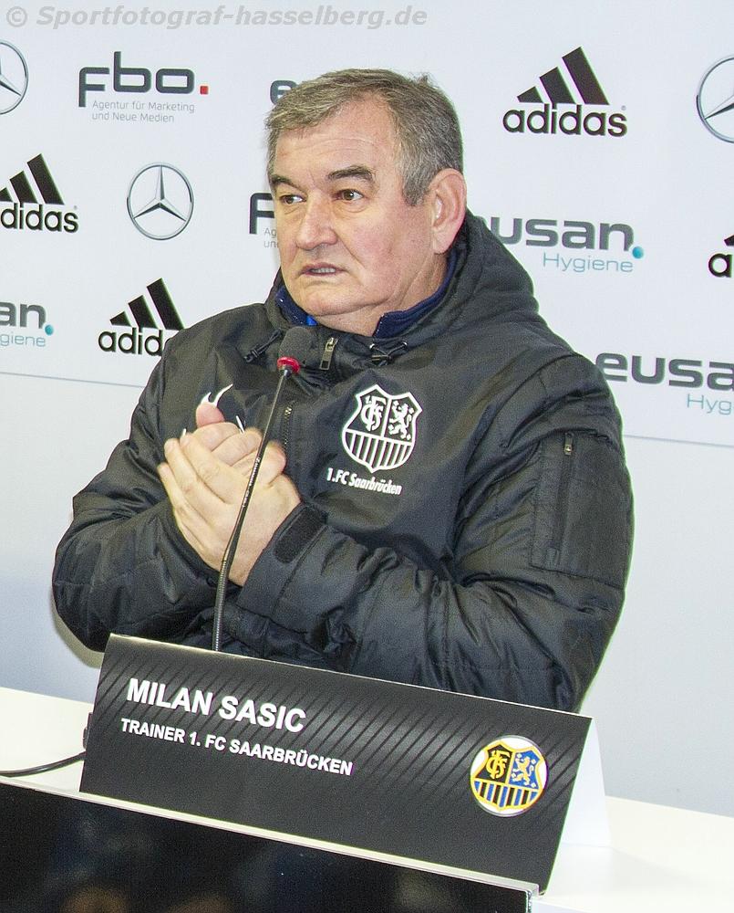 Saarbrücken: Trainer Milan Sasic tritt zurück