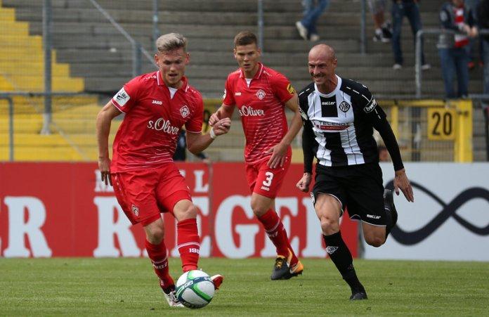 8. Spieltag 17/18: VfR Aalen - Würzburger Kickers