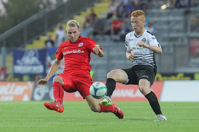 25. Spieltag; FC Hansa Rostock -  VfR Aalen