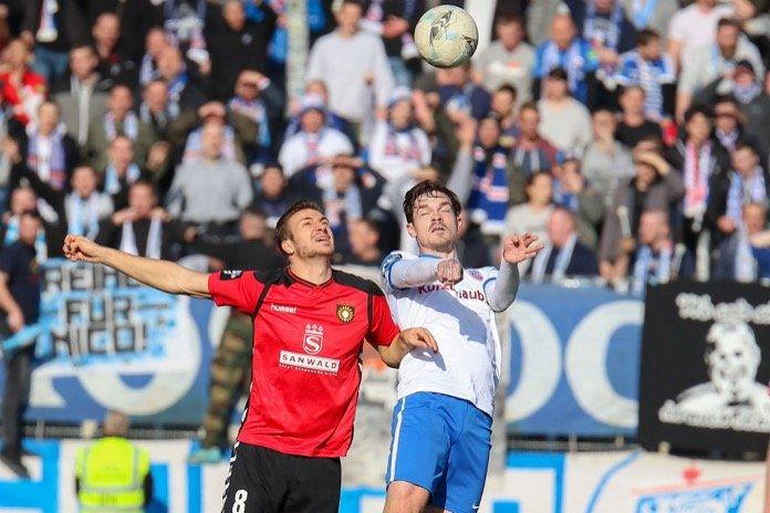 22. Spieltag 16/17: Sonnenhof Großaspach - Hansa Rostock