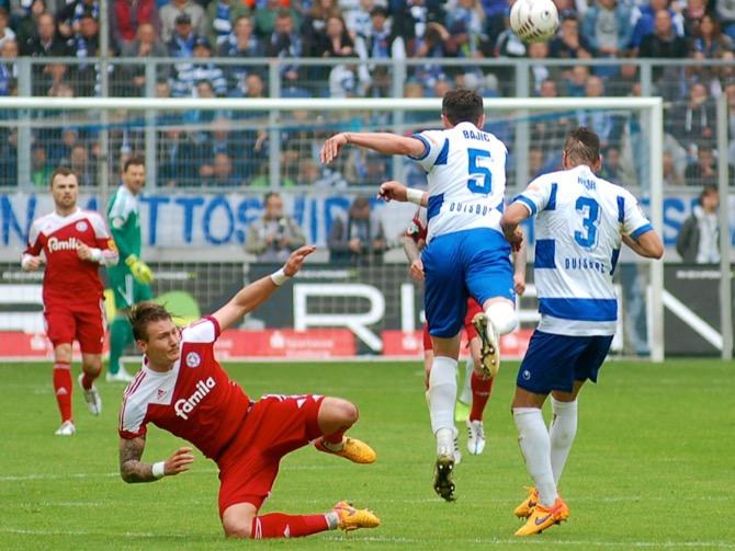 38. Spieltag; Holstein Kiel - Stuttgarter Kickers