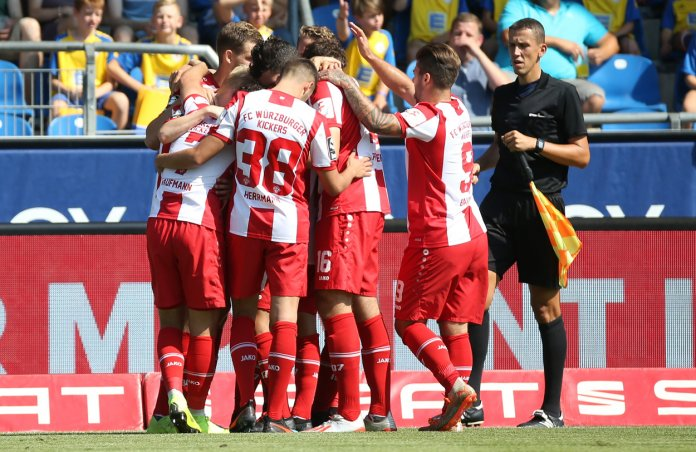 Würzburger Kickers: Verbandspokal terminiert