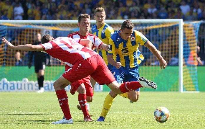 6. Spieltag 19/20: Eintracht Braunschweig - Würzburger Kickers