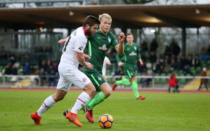 21. Spieltag 17/18: SV Werder Bremen II - Würzburger Kickers - Bild