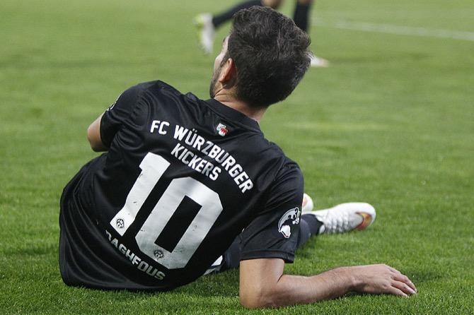 11. Spieltag; Würzburger Kickers - Chemnitzer FC