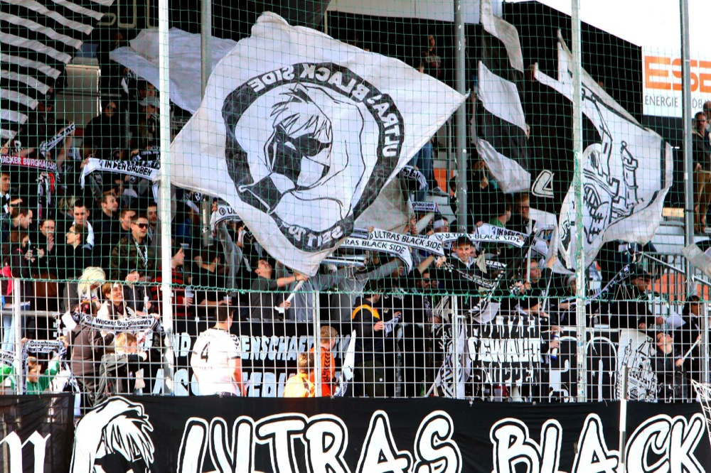 Fans Wacker-Arena