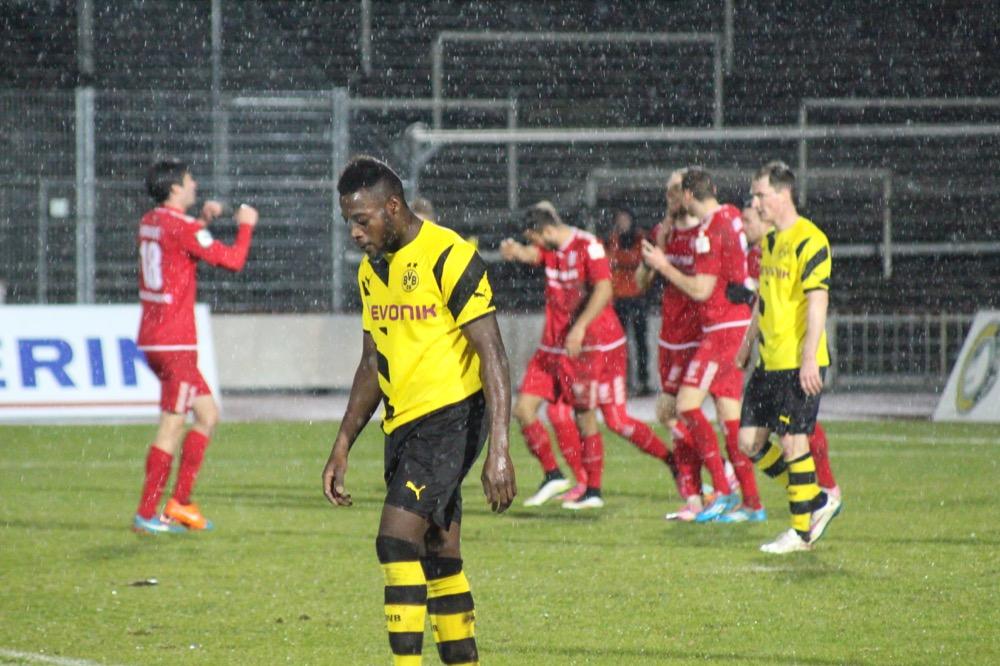 27. Spieltag; Chemnitzer FC - Borussia Dortmund II