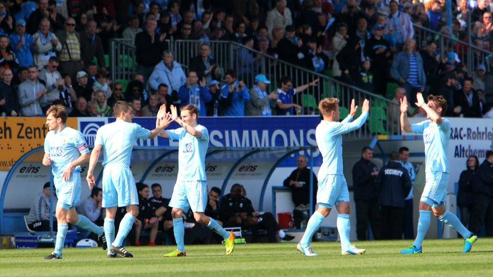 Chemnitz zieht zum elften Mal ins Landespokalfinale ein – Ersatzkeeper Riederer denkt an Abschied