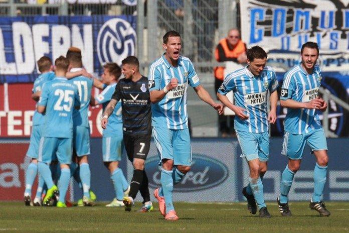 29. Spieltag 16/17: Chemnitzer FC - MSV Duisburg