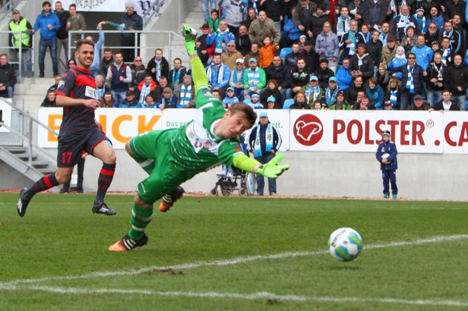 Chemnitz besiegt Erfurt im Derby mit 2:1 - Spielbericht