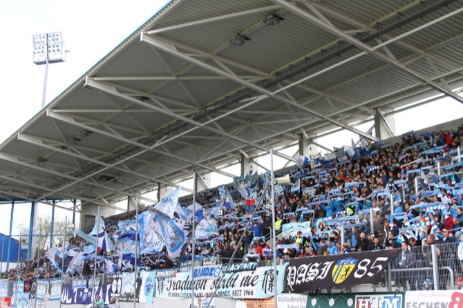 2. Spieltag; Chemnitzer FC - FC Hansa Rostock