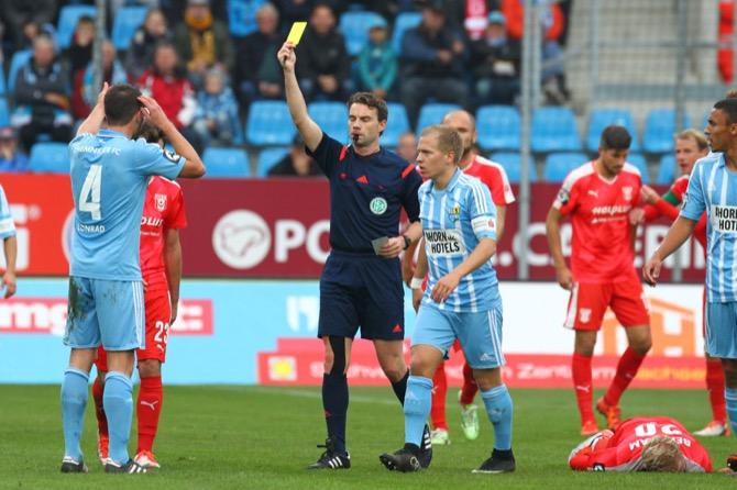 Chemnitzer FC erfolgreich gegen Halle - Spielbericht + Bilder