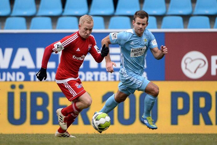 Chemnitz mit drei wichtigen Punkten gegen Unterhaching -  Spielbericht + Bilder