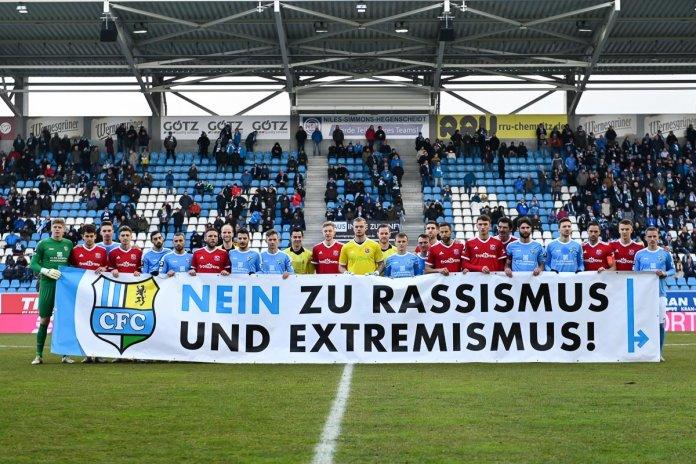 27. Spieltag 19/20: Chemnitzer FC - SpVgg Unterhaching