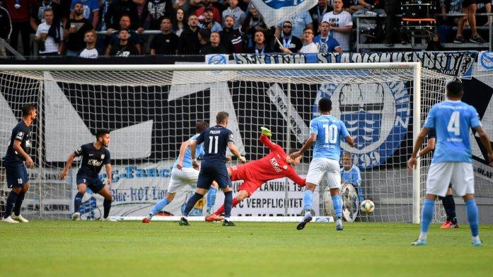 3. Spieltag 19/20: Chemnitzer FC - SV Meppen - Bild