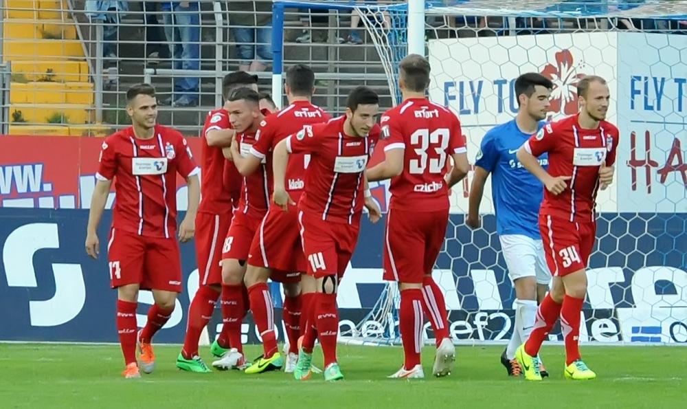 Mannschaftsfoto Rot-Weiß Erfurt