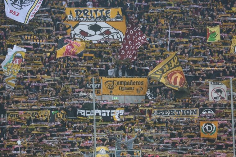 Dynamo: Fans  organisieren große Choreo gegen Magdeburg