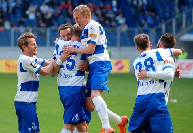 36. Spieltag; FC Rot-Weiß Erfurt - MSV Duisburg