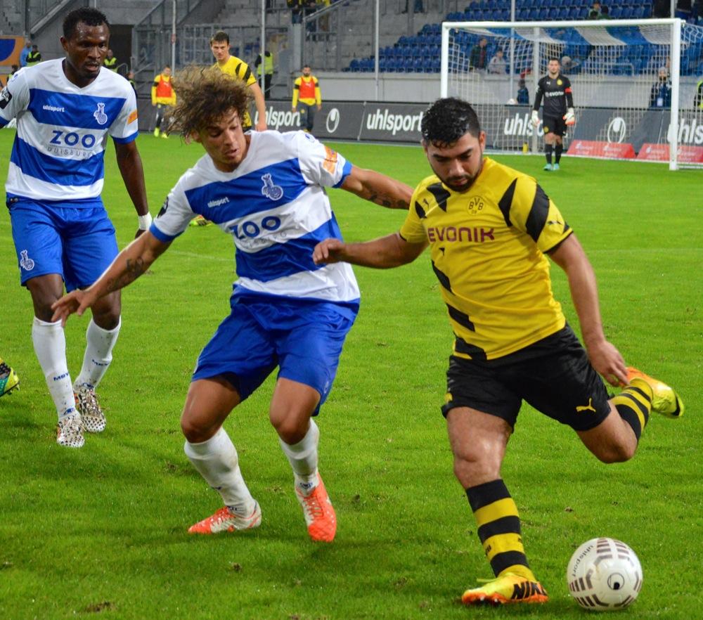 21. Spieltag; Holstein Kiel - Borussia Dortmund II
