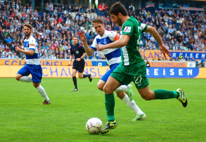 38. Spieltag; SC Preußen Münster - Borussia Dortmund II