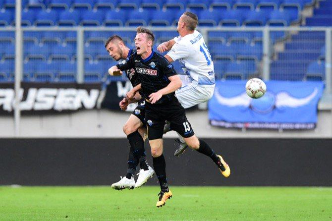 1. Spieltag 16/17: MSV Duisburg - SC Paderborn 07