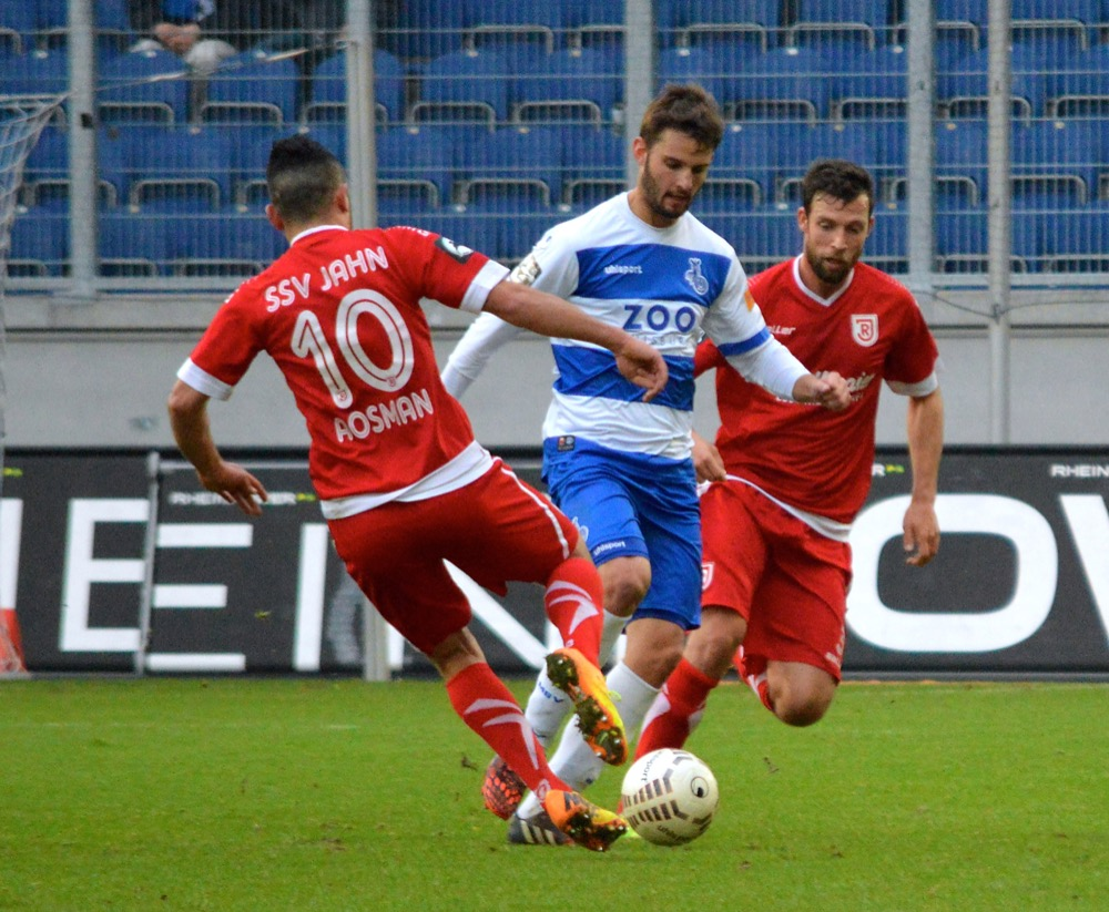27. Spieltag; SSV Jahn Regensburg - Dynamo Dresden