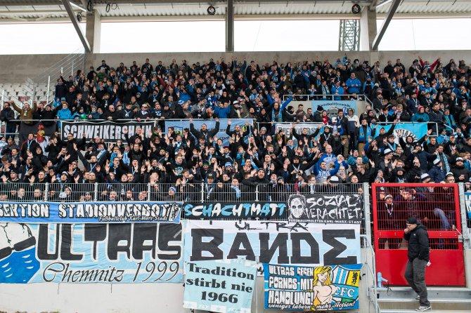 Rot-Weiß Erfurt: Nordtribüne für eigenen Fans geöffnet