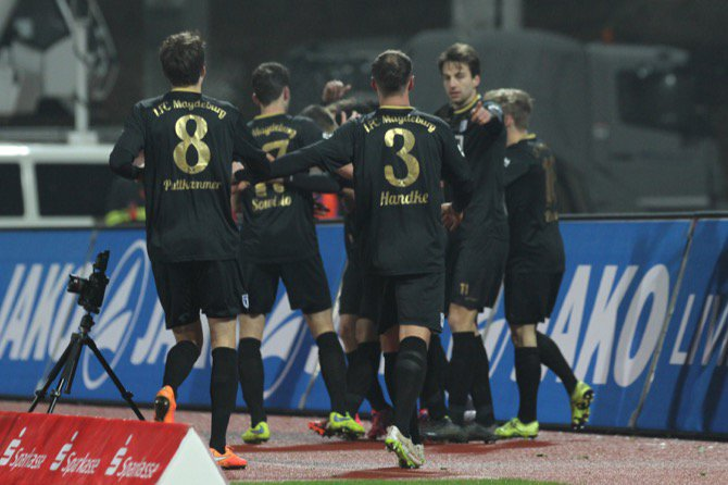 21. Spieltag; 1. FC Magdeburg - 1. FSV Mainz 05 II