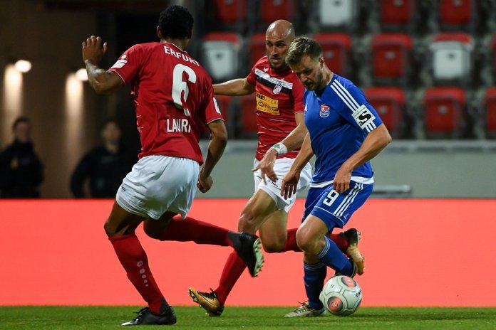9. Spieltag 17/18: Rot-Weiß Erfurt - SpVgg Unterhaching