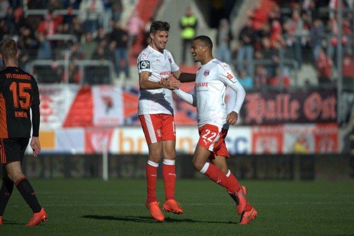 15. Spieltag; Hallescher FC – 1. FSV Mainz 05 II