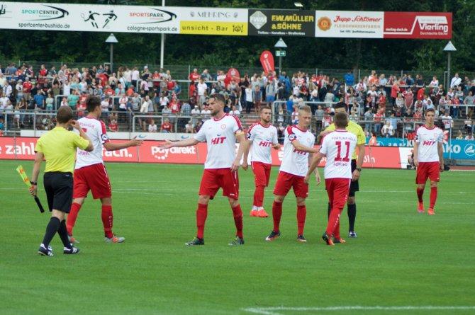 14. Spieltag; Fortuna Köln – Preußen Münster