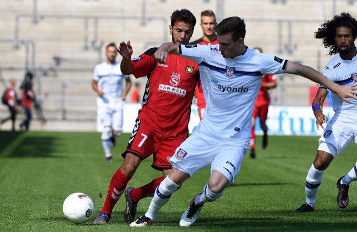 25. Spieltag; SG Sonnenhof Großaspach – FSV Frankfurt