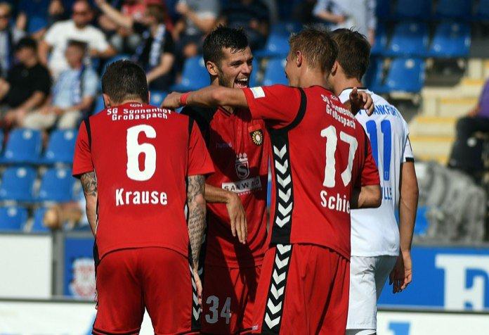 6. Spieltag 16/17: FSV Frankfurt - Sonnenhof Großaspach