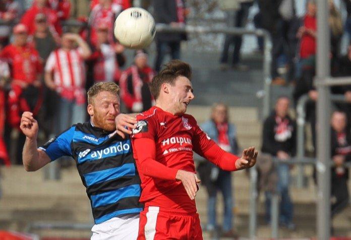 26. Spieltag 16/17: FSV Frankfurt - Hallescher FC
