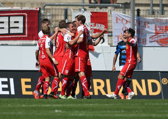 7. Spieltag; Jahn Regensburg - Fortuna Köln
