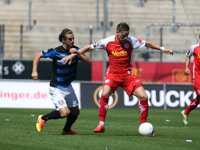 23. Spieltag; Jahn Regensburg – FSV Frankfurt
