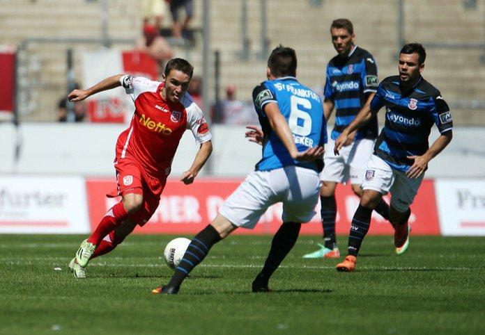 4. Spieltag 16/17: FSV Frankfurt - Jahn Regensburg