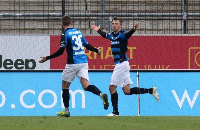 19. Spieltag 16/17: FSV Frankfurt - SV Wehen Wiesbaden