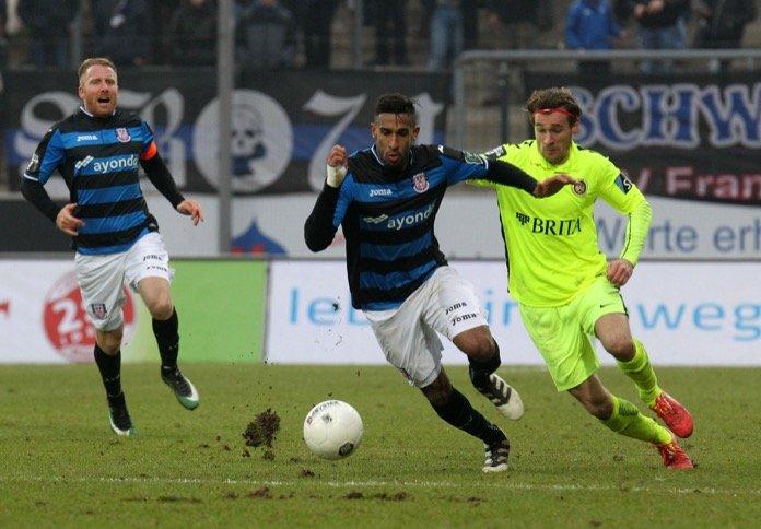 38. Spieltag; SV Wehen Wiesbaden – FSV Frankfurt