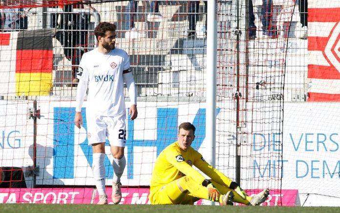 30. Spieltag 18/19: Sonnenhof Großaspach - Würzburger Kickers - Bild