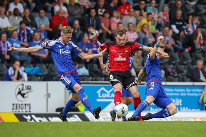 37. Spieltag 16/17: Sonnenhof Großaspach - Holstein Kiel