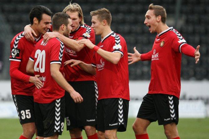21. Spieltag; FC Erzgebirge Aue - SG Sonnenhof Großaspach