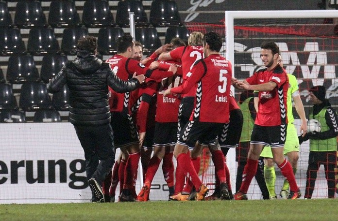 27. Spieltag; SG Sonnenhof Großaspach – Sportfreunde Lotte (Nachholspiel)