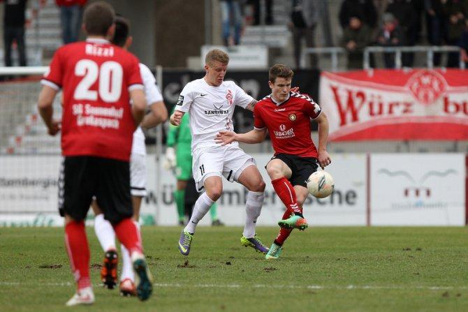 Großaspach am letzten Spieltag (Frank Scheuring)